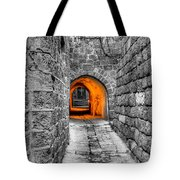 Street In Stone Tote Bag