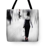 Street Lady Tote Bag
