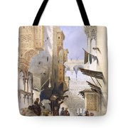 Street Leading To El Azhar, Grand Tote Bag