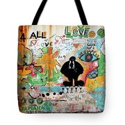 Street Mural At Liguanea Tote Bag