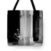 Street Musician 4b Tote Bag