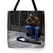 Street Musician - Sao Paulo Tote Bag
