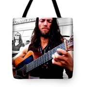 Street Musician Series #1 Tote Bag