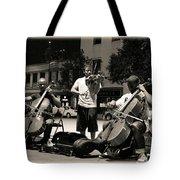 Street Musicians 2 Tote Bag
