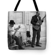 Street Musicians In Avignon Tote Bag