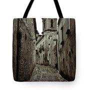 Street Of Erice Tote Bag