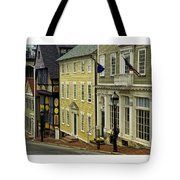 Street Of Many Colors In Providence Ri Tote Bag