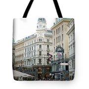 Street Of Vienna Tote Bag