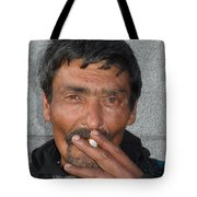 Street People - A Touch Of Humanity 17 Tote Bag