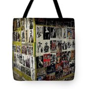 Street Photographer's Shed Icons Us/mexico Border Nogales Sonora  Mexico 2003 Tote Bag