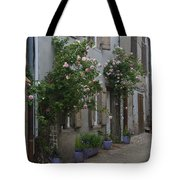 Street Scene Durfort France Tote Bag