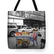 Street Seller Tote Bag