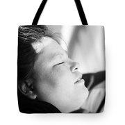 Street Sleep Tote Bag