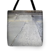 Street Under The Bridge Tote Bag