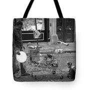 Street Vendor Tote Bag by Chevy Fleet