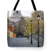 Street View In Gyor Tote Bag