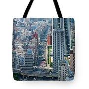 Street View Tokyo Tote Bag