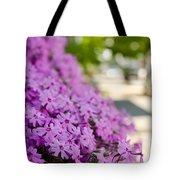 Street Wildflower Tote Bag