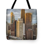 Streeterville From Above Tote Bag