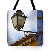 Streetlight Horizontal Tote Bag