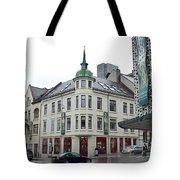 Streets Of Aalesund Tote Bag