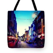 Streets Of Dublin Tote Bag