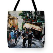 Streets Of Italy Tote Bag by Vickie Warner