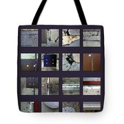 Streets Of New York Poster Tote Bag