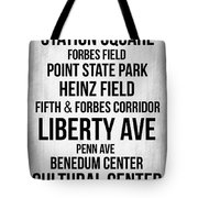 Streets Of Pittsburgh 2 Tote Bag