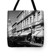 Streets Of Puebla 9 Tote Bag