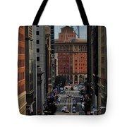 Streets Of San Fran Tote Bag by Benjamin Yeager
