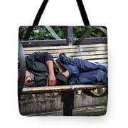 Streets Of Seattle Tote Bag