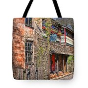 Streets Of St Augustine Florida Tote Bag