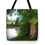 Strength Beside The Stream Tote Bag