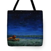 Strength In Their Strides And Courage In Their Hearts Tote Bag