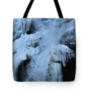 Strength Of Water And Ice Tote Bag