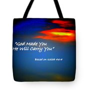 Strength When Weak Tote Bag