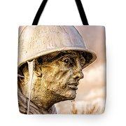 Stress Of Korean War Tote Bag