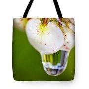 Stretchy Raindrop Tote Bag