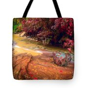Striated Creek Tote Bag