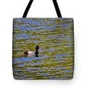 Striking Scaup Tote Bag