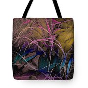 String And Fabric Tote Bag