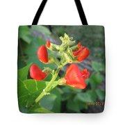 String Bean Flowers Tote Bag