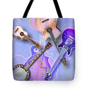 Stringed Instruments Tote Bag