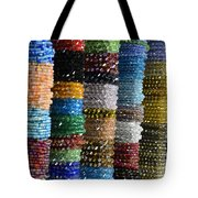 Strings Of Color Tote Bag