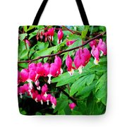 Strings Of Hearts Tote Bag