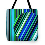 Striped Circle  C2014 Tote Bag
