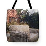 Striped Couch I Tote Bag