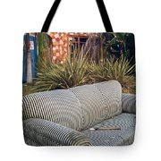 Striped Couch II Tote Bag