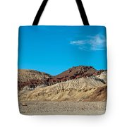 Striped Mountain Tote Bag